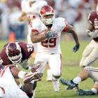 Chris Brown ran for three scores and Sam Bradford threw touchdown passes to four different receivers as the Sooners rolled. They have scored 231 points in four games since losing to Texas.