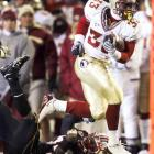 Carlton Jones and the Seminoles had no problem running over the beleaguered Terps on Saturday. But now, Florida State needs a Boston College loss next week -- against Maryland -- to land a spot in the ACC title game.