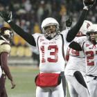 Talk about a season that just keeps on giving. Nate Davis (4 TDs vs. CMU) and the undefeated Cardinals (11-0) have clinched the MAC West title, locked up a berth in the MAC championship and have an outside chance at a BCS game -- if only Ball State can close out the season with a win over Western Michigan next week.