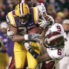 How close did Charles Scott and LSU come to losing a home game to a Sun Belt school? The Tigers needed all of their 30 fourth-quarter points to stave off the major upset.