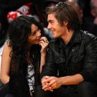 Also at Tuesday's Knicks-Lakers tilt were celebrities for younger fans to gawk at -- Vanessa Hudgens and Zac Efron.