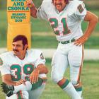 The Jets nearly ruined the Dolphins' perfect season but Miami's Mercury Morris scored with less than 2 minutes remaining to remain unbeaten.