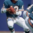 Dan Marino and Ken O'Brien combined to set an NFL record for most combined passing  yards with 884. The Jets finally won in overtime on an O'Brien-to-Wesley Walls touchdown pass.