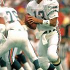 In what was to become a microcosm of many seasons in Miami for Dan Marino, the Hall of Fame QB threw for 521 yards -- 33 shy of Norm Van Brocklin's single-game record -- in a loss.