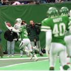 """Miami rallied from a 24-6 deficit to trail only 24-21 in the closing seconds. Near the Jets goal line, Dan Marino motioned as if he were going to spike the ball and stop the clock, but instead threw a touchdown pass to Mark Ingram to put """"The Spike Play"""" into football lore forever."""