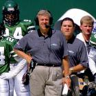 The departure of Rich Kotite coupled with the arrival of Bill Parcells worked wonders for the Jets. Led by Neil O'Donnell and Adrian Murrell, New York narrowly missed the playoffs, finishing at 9-7.