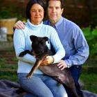 Chwistek and her husband, Bill Cook, have adopted Audie.