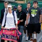 After a year of dating and cheering her on at various tournaments (here they are at Wimbledon), the boisterous Capitals superstar tweeted on New Year's Eve that he was engaged to Kirilenko, the 14th-ranked women's tennis player in the world.
