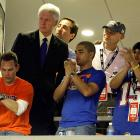 As did former President Bill Clinton and political commentator James Carville.