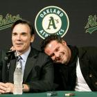 Even at his introductory press conference on Wednesday, Jason Giambi was still shocked he found a team to give him $5.25 million.