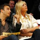 Maria Sharapova took in a Lakers game a couple of days later.