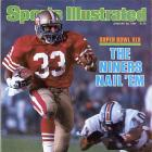 The San Francisco 49ers win the Super Bowl by beating the Miami Dolphins, 38-16. Joe Montana is named MVP for the third time.