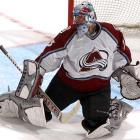 Colorado's Patrick Roy becomes the first NHL goalie to play in 1,000 games.