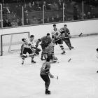 Legendary backliner Doug Harvey anchored a sturdy defense that helped the Habs bump off the Bruins in a six-game rematch in 1958.