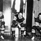 """Led by superstar center Howie Morenz (left) and left winger Aurele Joliat (center), the Habs dethroned the defending champion Boston Bruins in a two-game sweep in the 1930 final. The following season, right winger Johnny """"Black Cat"""" Gagnon (right) joined the top line and the Habs repeated by downing the Chicago Blackhawks in a final that went the full five games."""