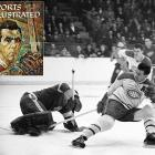 "The NHL's top goal-scorer each season receives the Maurice Richard Trophy, named for the first 50-goal scorer and first to reach 500. Feared for his intensity and crazed stare, The Rocket is the most beloved Canadien -- winner of eight Cups and five scoring titles in 18 years. He wore the ""C"" from 1956-60 and the NHL waived its waiting period so he could be immediately inducted to the Hall of Fame in 1961. After his death in 2000, he was given a state funeral -- the first Canadian athlete so honored."