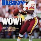 Williams had barely stepped on an NFL field in five long years, before being pressed into action for the 1987 playoffs in place of the injured Jay Schroeder. The Redskins seemed to win despite Williams, who completed just 9 of 26 passes against Minnesota in the NFC title game. Then with the Redskins trailing the Broncos 10-0 in Super Bowl XXII, he exploded without warning, firing four TD strikes in the second quarter alone, including scoring tosses of 80 and 50 yards to Ricky Sanders. He earned MVP honors in the 42-10 victory for a 340-yard effort that set a Super Bowl record at the time.