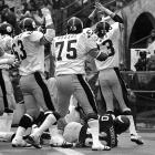 The Vikings remain one of the small handful of offenses that were shutout in a Super Bowl (Minnesota's lone points in the 16-6 loss to Pittsburgh came on a blocked punt). Tarkenton's fiery Hindenburg of an outing is a large reason why. The Hall of Famer's 14.1 passer rating remains one of the worst by any Super Bowl starter and perhaps the worst game of his long, record-setting career.