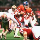 Elway played poorly in the three Super Bowl losses that threatened to define his career before he rode out in a blaze of back-to-back championship-winning glory. Few efforts were more putrid than this 55-10 debacle. The performance looks more gruesome when contrasted against the best-ever Super Bowl effort Joe Montana orchestrated when the San Francisco offense stepped on the field after every failed Denver drive.