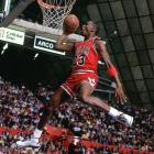 """Jordan won his first dunk contest in a competition missing the previous two winners (Dominique Wilkins and Spud Webb) because of injuries. """"There was adrenaline pumping through my body today that was unexplainable,"""" Jordan told reporters after defeating Jerome Kersey in the finals."""
