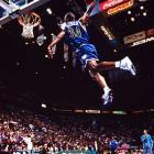 The Timberwolves rookie's signature move came when he drove baseline, elevated, put the ball between his legs and dunked. That was more than enough to get past Shawn Kemp and Robert Pack in the finals. Harold Miner, the 1993 winner, did not participate because of injury.