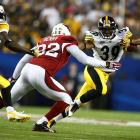 Willie Parker's longest run was for 15 yards on a night when he carried the ball 19 times and netted only 53 yards.