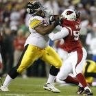 The Cardinals were penalized 11 times and 106 yards; the Steelers seven flags and 56 yards.