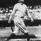 """When Yankee Stadium opened in 1923, it was already known as """"The House That Ruth Built."""" Fittingly, Ruth christened the stadium in its very first game, blasting a three-run homer off Red Sox right-hander Howard Ehmke"""