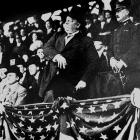William Howard Taft started a presidential tradition of throwing out the first pitch when he tossed a ball from the stands to Washington Senators ace Walter Johnson.