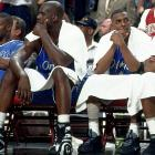"""Shaq and Penny briefly reunited in 2007, a few years after O'Neal made an unflattering remark about the guard while comparing his three star sidekicks: Penny, Kobe Bryant and Dwyane Wade. """"The difference between those three is the Godfather trilogy,"""" Shaq said. """"One is Fredo, who was never ready for me to hand it over to him. One is Sonny, who will do whatever it takes to be the man. And one is Michael, who, if you watch the trilogy, the Godfather hands it over to Michael. So I have no problem handing it over to Dwyane."""""""
