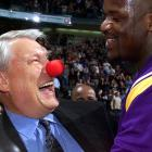 """O'Neal labeled Nelson a """"clown coach"""" for employing the Hack-a-Shaq strategy. Nellie responded by wearing a clown nose before a Lakers-Mavericks game in 2001."""