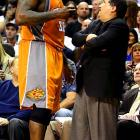 """After Orlando coach Stan Van Gundy called him out for flopping against Dwight Howard in a March 2009 game, Shaq unloaded on the man who coached him over two seasons in Miami: """"Flopping to me is doing it more than one time, and I realized when I tried to take the charge, as I went down, I realized that that play reminded me of his whole coaching career. And one thing I really despise is a front-runner, so I know for a fact that he's a master of panic, and when it gets time for his team to go in the postseason and do certain things, he will let them down because of his panic. I've been there before, I've played for him."""""""