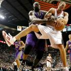 """O'Neal has gone out of his way to single out the Blazers' backup center, who plays a physical style against Shaq. """"Przybilla can't guard me when I'm 27, 37 or 47,"""" Shaq said in November 2008."""