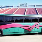 The Barons traveled throughout the Southern League in style thanks to Jordan, who procured a $337,500 luxury bus complete with reclining seats, televisions and a wet bar.