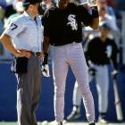 """During spring training, Jordan referred to an umpire as """"the ref."""" Once the games counted, the 6-foot-6 Jordan struck out 114 times in 436 at-bats for Birmingham."""
