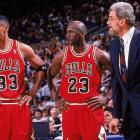 In Jordan's first full season since his return, the Bulls (72-10) became the first team in NBA history to win at least 70 games. Jordan was the regular-season MVP, the All-Star MVP and the Finals MVP