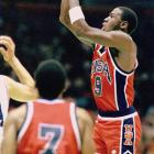 In 1984, Jordan was the consensus college player of the year, the leading scorer on the gold-medal-winning U.S. Olympic team and the third pick in the NBA draft. The Bulls selected Jordan after the Rockets took Hakeem Olajuwon at No. 1 and the Trail Blazers chose Sam Bowie at No. 2.