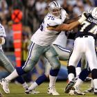Two season-ending injuries ruined his tenure in Chicago, but after signing with the Cowboys late in 2005, Colombo has become one of the game's most dominant tackles.  <br><br>Others considered: <br>Nick Mangold (2006)