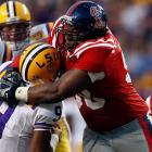 An explosive defensive tackle, Jerry is one of the draft's most competitive prospects.