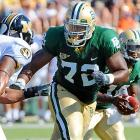 He is a terrific pass blocker who can be a stalwart left tackle for years to come.
