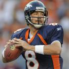 Kyle Orton threw for 2,972 yards and 18 touchdowns for the Bears in 2008, only to be shipped to Denver in the dramatic trade for the disgruntled Jay Cutler. Orton wasted no time settling in with his new team, recording more than 3,500 yards in each of his first two seasons before falling prey to Tebowmania and eventually leaving Denver.