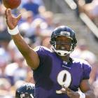 Steve McNair ended his nine-year career in Tennessee after a 2005 season in which he threw for 3,161 yards. He was traded to the Baltimore Ravens on June 7, 2006, for a 4th round pick in the 2007 draft. McNair started every game for the Ravens that season, and led the squad to a 13-3 record and an AFC North title, but his squad lost in the first round to the Colts. He announced his retirement in April 2008, after 13 NFL seasons.