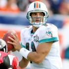 Another NFL journeyman, Gus Frerotte found the occasional starting job during his career, including in 2005 with the Dolphins. In that season, Frerotte threw for 2,996 yards and 18 touchdowns, leading the Fish to a 9-7 record. Miami released Frerotte after the season, and the veteran quarterback signed with the Rams as Marc Bulger's backup. In his first season of the new gig, he threw just three passes, completing one for 27 yards.