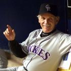 Colorado skipper Jim Leyland becomes the 45th manager to win 1,000 games after the Rockies defeat the Padres, 6-4.