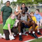 Shaq helped kids lose weight as a way to draw attention to the growing problem of childhood obesity in the United States.