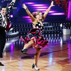 """In one episode, Johnson was congratulated for her """"killer instinct"""" as a ballroom dancer and the pint-sized gymnast waltzed her way to the top prize in the eighth season of the show."""