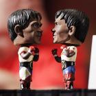 Manny's bobblehead dolls are all ready for Saturday's fight, which will feature the real Manny vs. Ricky Hatton.