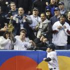 Crowd reactions are the best, but Johnny Damon's is pretty good, too.