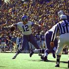 Roger Staubach completed 12 for 19 passes for 119 yards and the Cowboys rushed for a record 252 yards, as the Dolphins fell in the franchise's first-ever Super Bowl appearance.