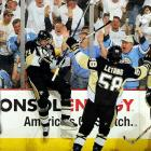Evgeni Malkin, enjoying the best postseason since Wayne Gretzky's in 1993, struck first for the Penguins with a power play goal 2:39 into the game. Detroit's Niklas Kronwall had taken the early penalty for tripping Malkin.